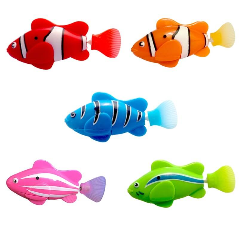 A Full Set of All Robot Fish (ADDITIONAL 40% OFF - TODAY ONLY)