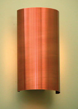 Curved Metal Sconce