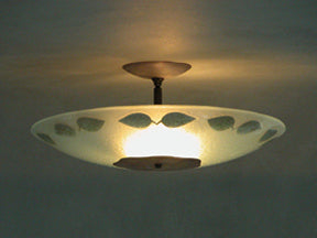 Fused Brass Shade