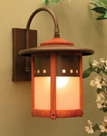 Copper Top Lantern