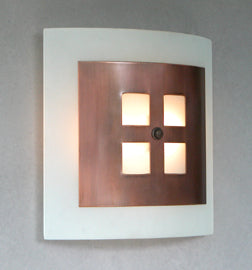 Four Square Sconce