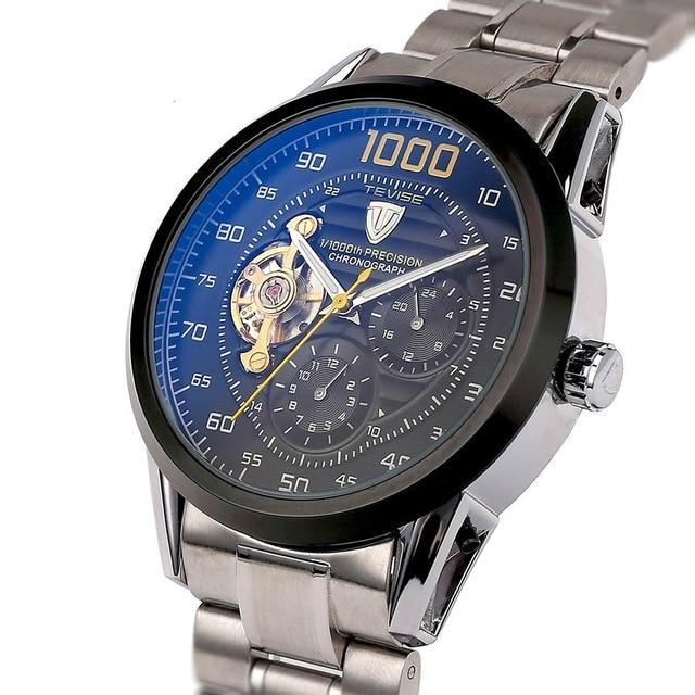 Automatic Winding Mechanical Watch - Stainless Steel