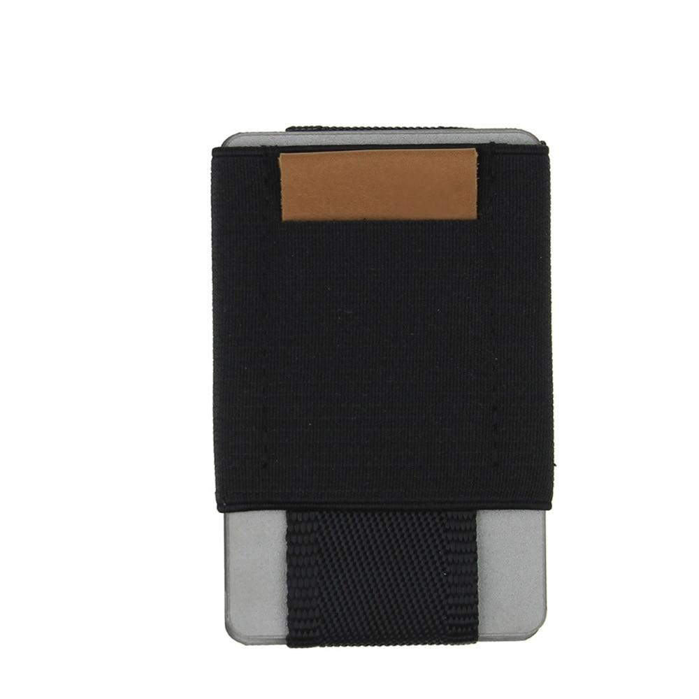 Super Slim Elastic Card Holder Wallet - Minimalist Wallets For Men