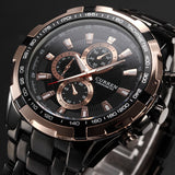 Classic Quartz Stainless Steel Watch - Mechanical Watches