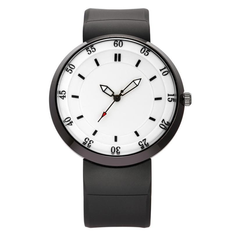 Simple Quartz Watch - Leather Watches