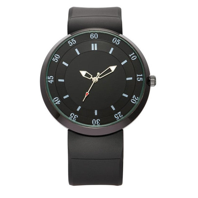 Simple Quartz Watch - A / China - Leather Watches