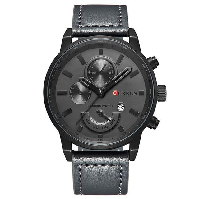 Casual Sports Watch - Gray - Mechanical Watches