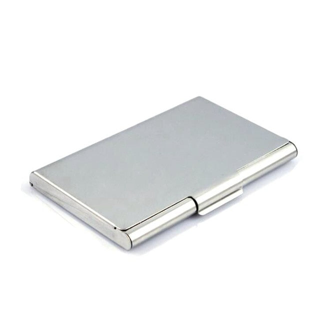 Stainless Steel Metal Wallet - Minimalist Wallets For Men