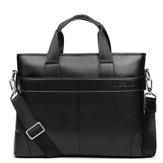 Dress Men's Shoulder Bag Men Briefcase Pu Leather Business Casual Tote Bags Vintage Travel Laptop Handbag Men's Messenger Bags