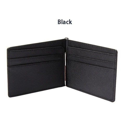 Slim Bifold Wallet - Black - Bifold Wallet