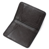 Slim Leather Rifd Wallet - Rfid Wallet
