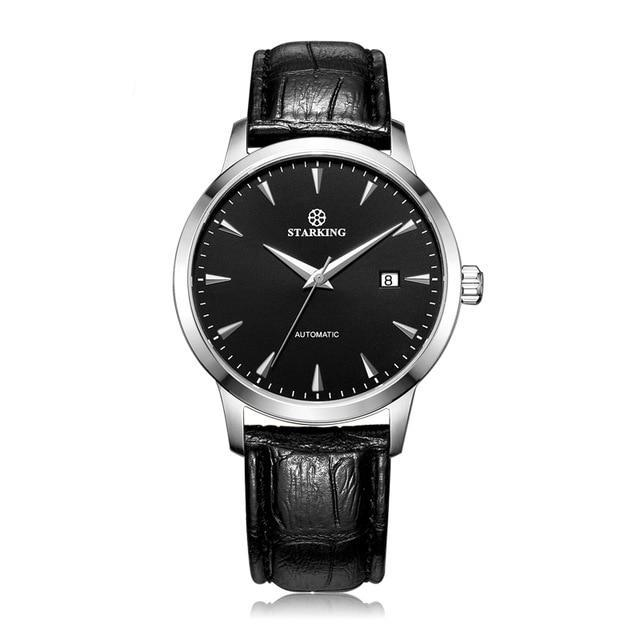 Classic Business Automatic Watch - Black - Mechanical Watches