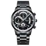 Stainless Steel Quartz Watch - Mechanical Watches