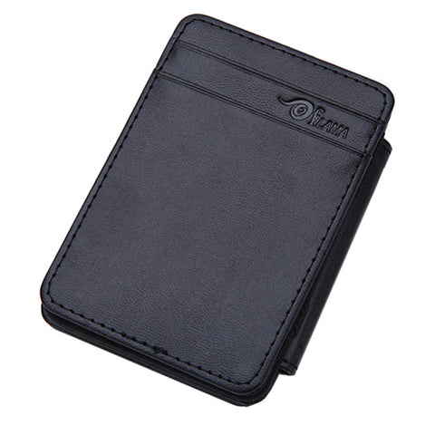 Mens Magic Wallet - Black - Minimalist Wallets For Men