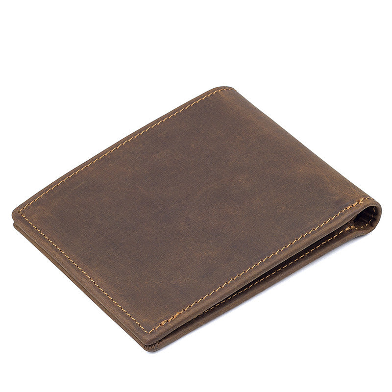 Leather Small Slim Minimalist Wallet - Minimalist Wallets For Men