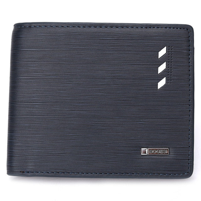 Slim Profile Bifold Leather Wallet - Bifold Wallet