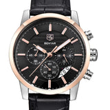 Mens Chronograph Sports Watch - Leather Watches