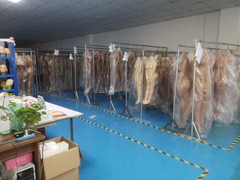 realistic silicone tpe sex doll factory