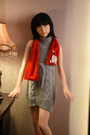 flat chest japanese doll