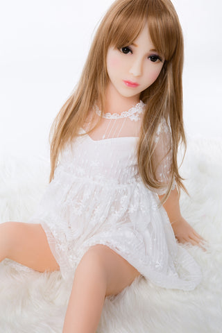 usa silicone flat chest doll
