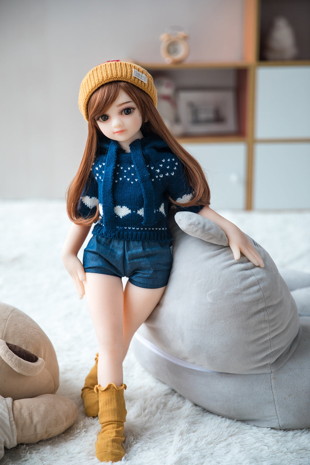 flat chested real doll usa