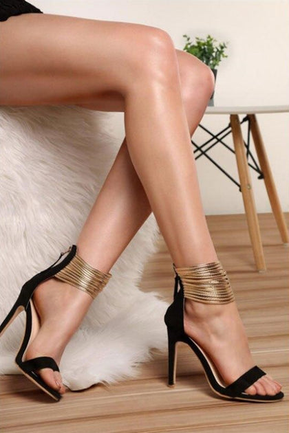 Chaussures Femme Stiletto Heels Open Toe Party