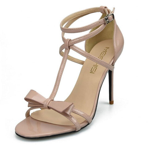 Summer Ladies Shoes Woman Patent Leather