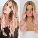Long Wavy Brown Wigs for Women Natural