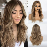 Long Blonde Synthetic Wig Daily Use