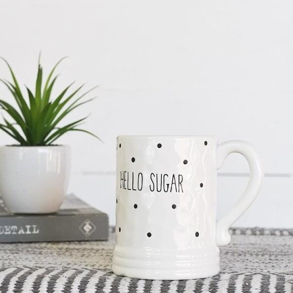 Hello Sugar Coffee Mug