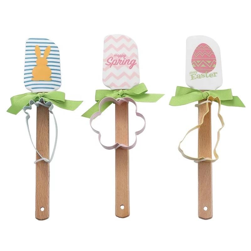 Easter Spring Spatula and Cookie Cutter set- arrival 3/8