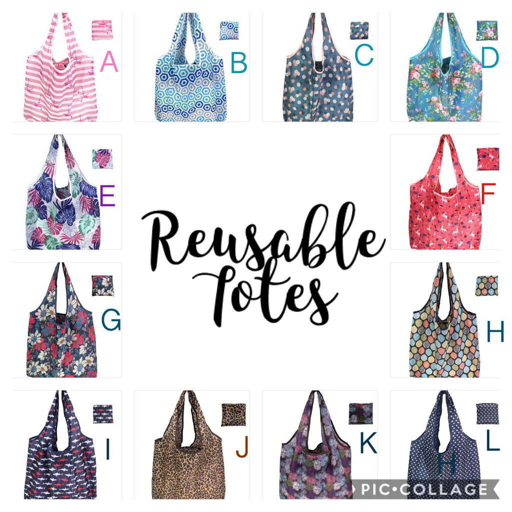 Eco Friendly Reusable Shopping Tote