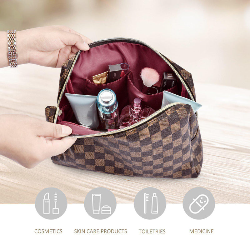 Carson Cosmetic Bag-Accessories-Beauty and Fashion Necessities-Shop The Dapper Squirrel Boutique for Women