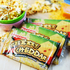 Popperoo: Cheezy Cheddar Microwave Popcorn Philippines