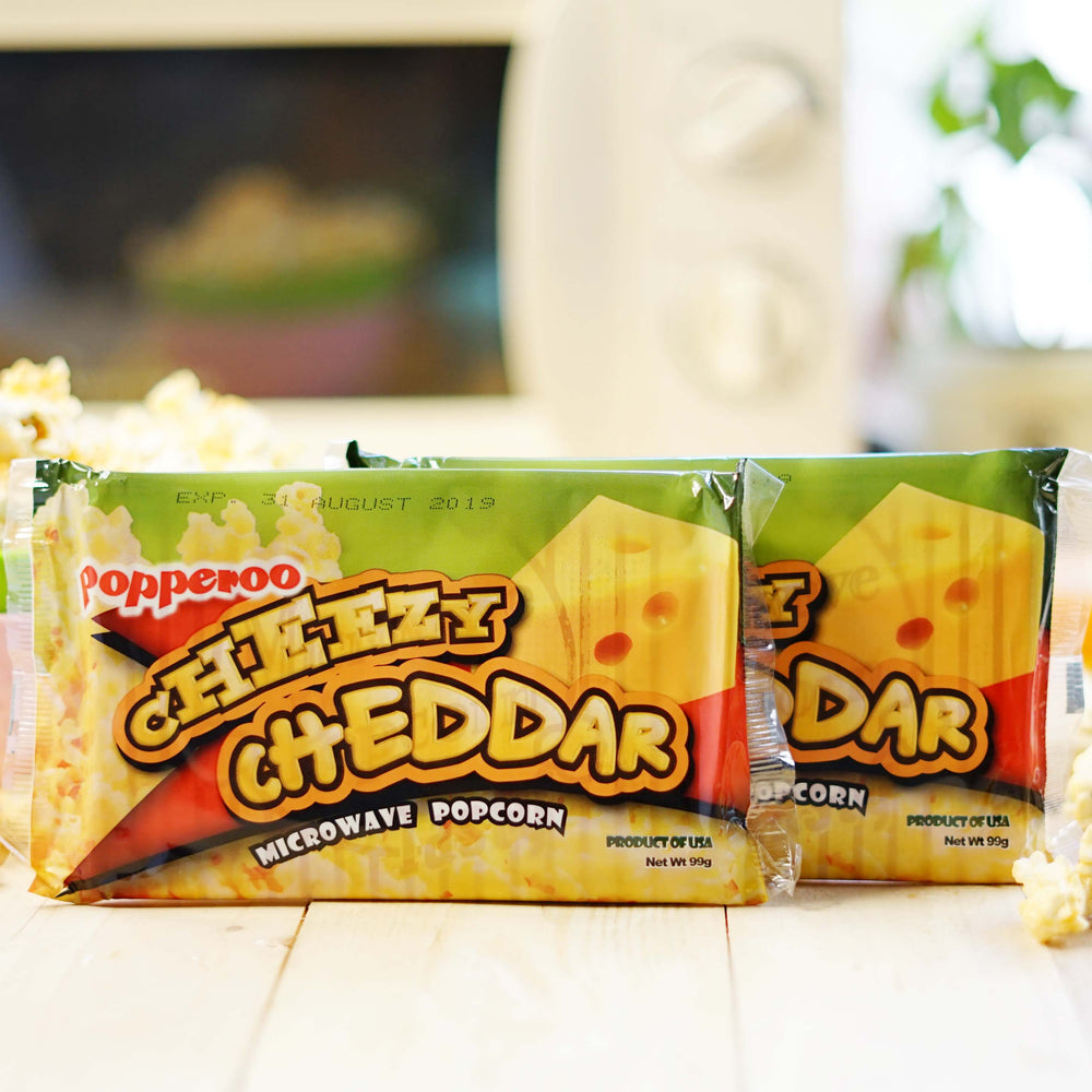 Cheezy Cheddar Microwave Popcorn Philippines