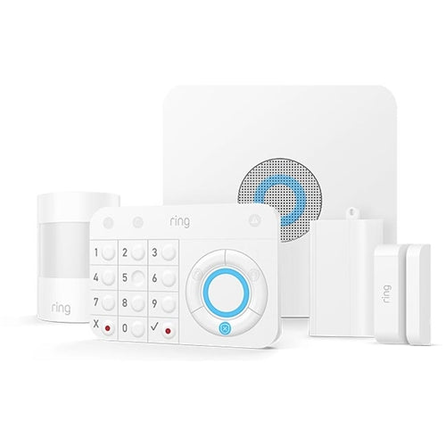 RING ALARM KIT BASE, KEYPAD, DW SENSOR, PIR, EXTENDER