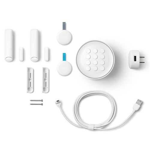 NEST SECURE ALARM STARTER KIT NEST GUARD DETECT TAG