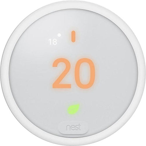 E THERMOSTAT WIFI WHITE 1/2 OR 2/1 STAGE HEAT COOL