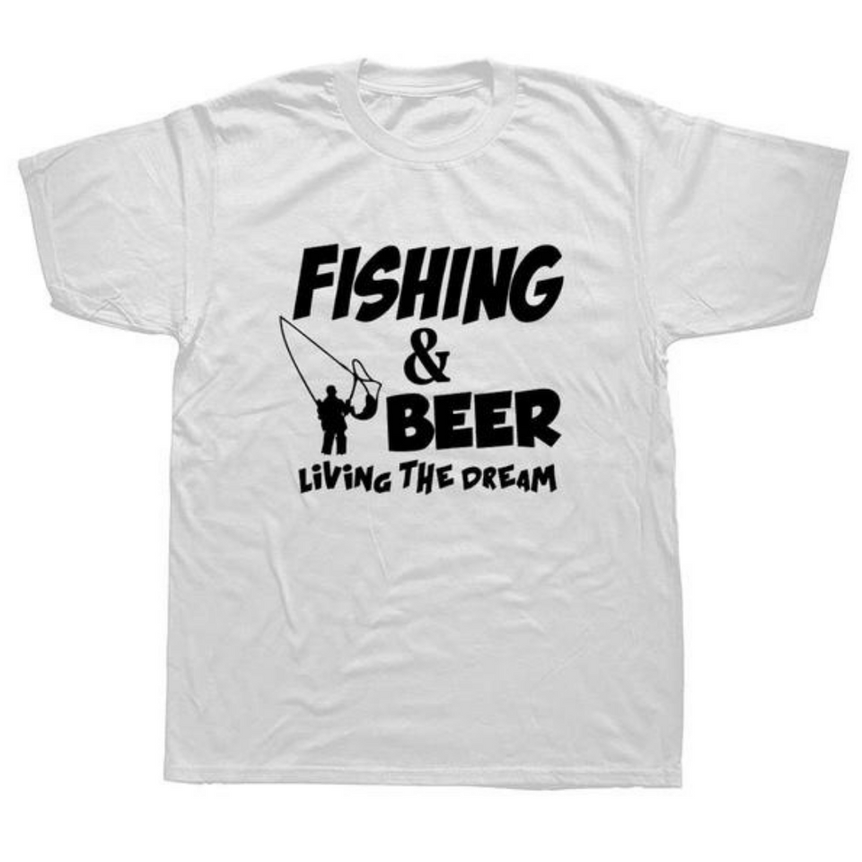 Fishing & Beer T-shirt
