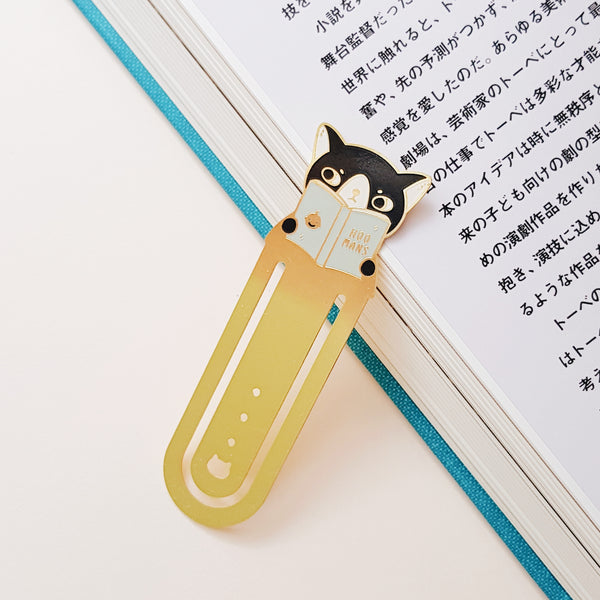 Reading Cat Bookmark