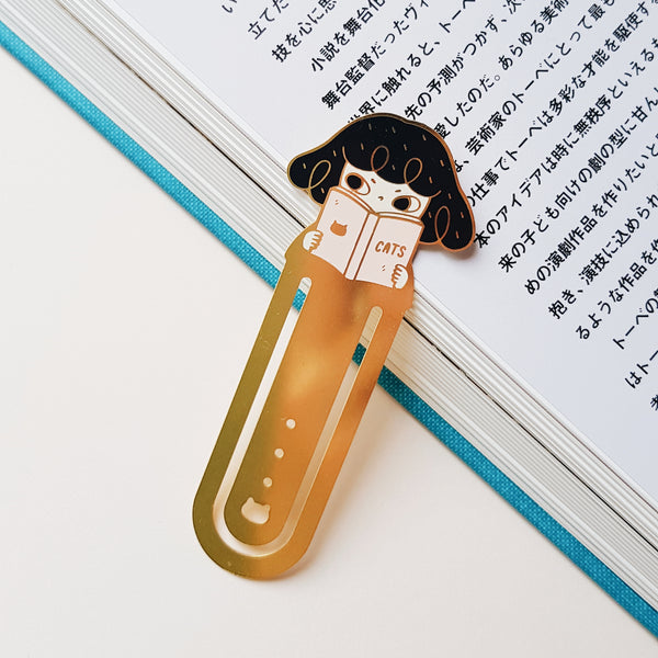 Reading Pepper Bookmark
