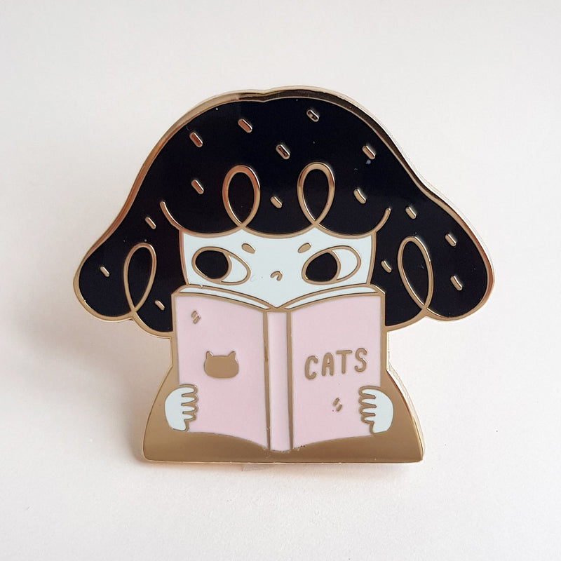 Reading Pepper Enamel Pin