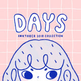 DAYS Inktober 2018 artbook