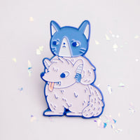 Disguised Cat Soft Enamel Pin