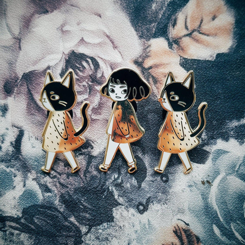 Catwalk series - Cat Hard Enamel Pin