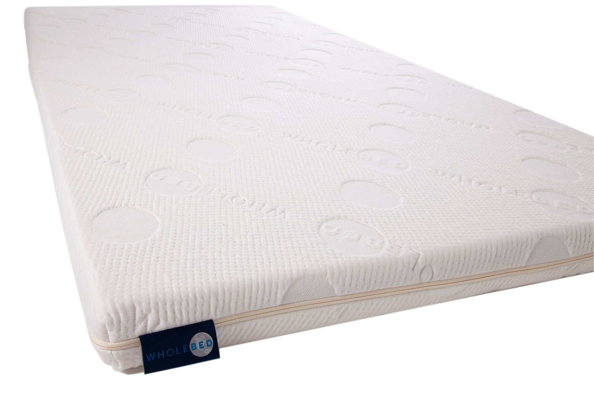 "6.  THE WHOLE TOPPER -- 3"" TWIN XL Size All Natural Mattress Topper"