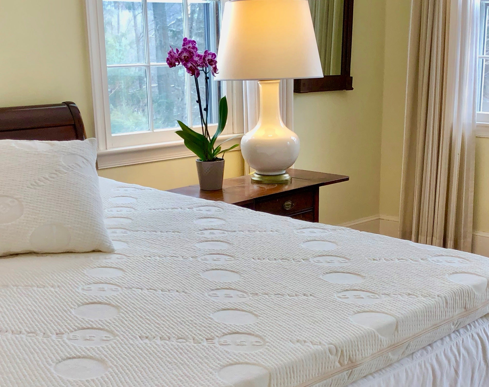 "THE WHOLE TOPPER -- 3"" KING Size All Natural Mattress Topper"