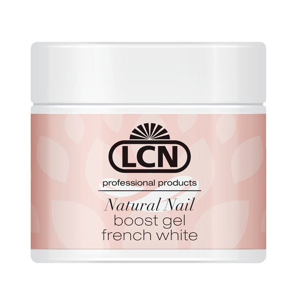 LCN Natural Nail Boost Gel, French White 5ml