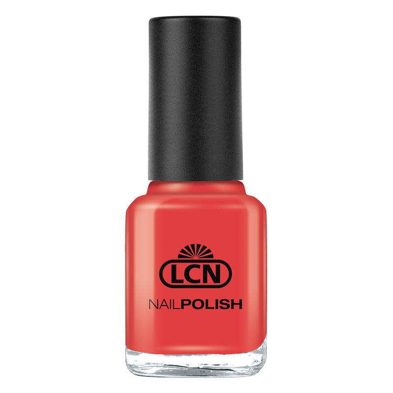 LCN Nail Polish 05 Orange Red 8ml