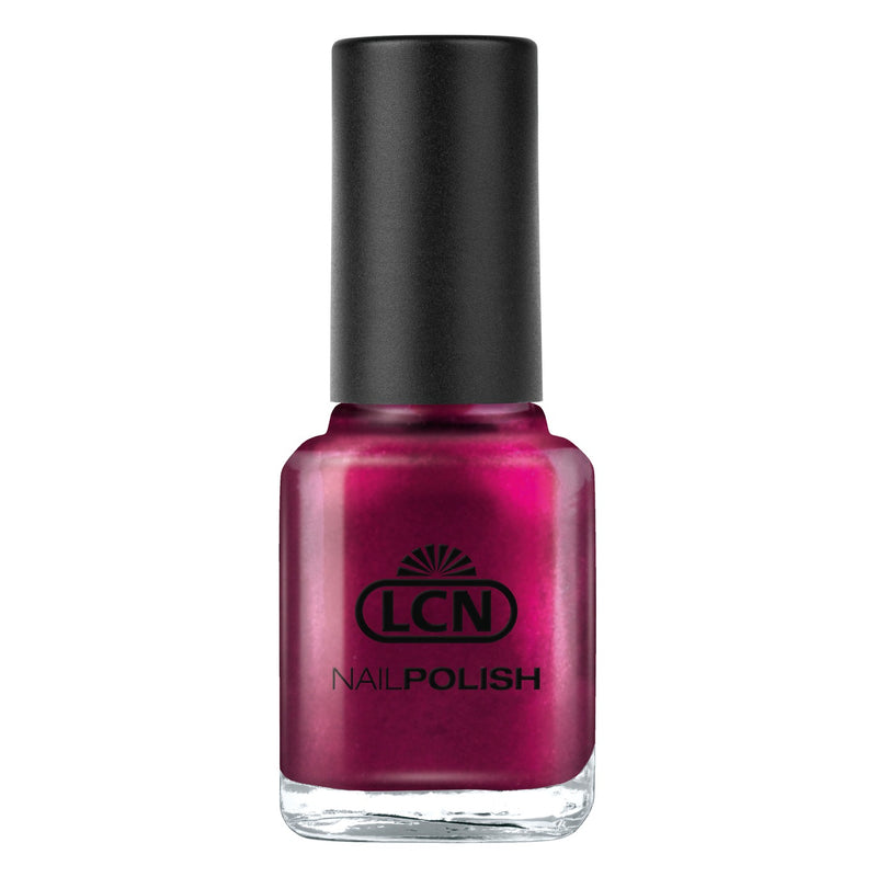 LCN Nail Polish 244 glue wine 8ml